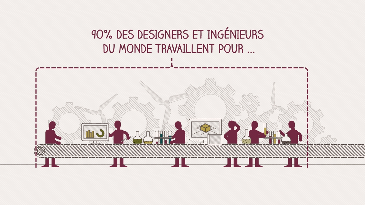 Cap sur l'innovation - motion design